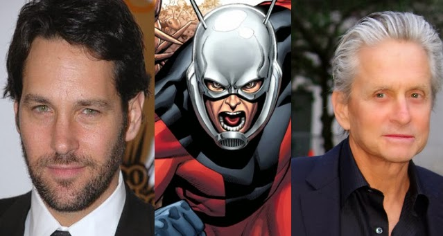 Michael Douglas Cast in 'Ant-Man'