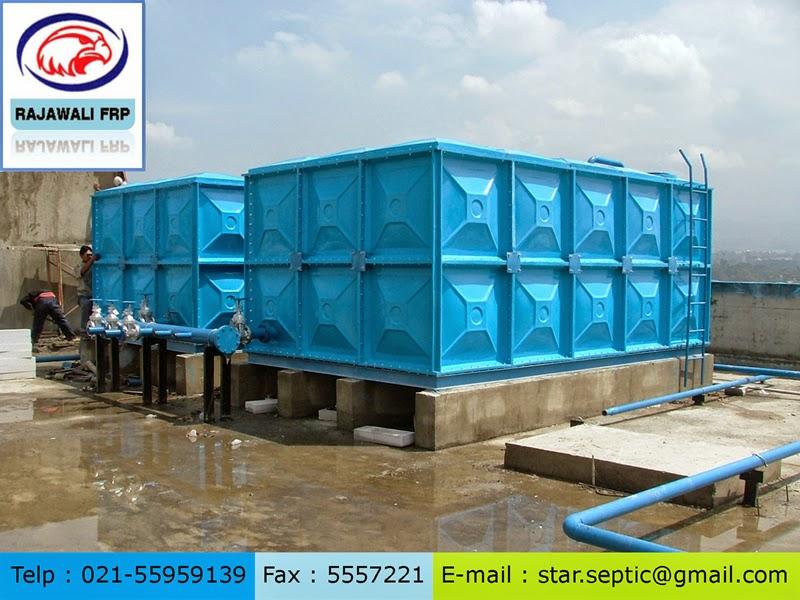 tangki air panel fibreglass