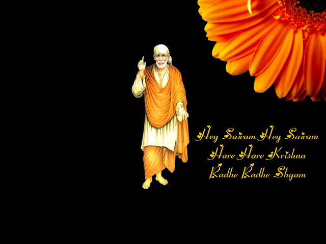 Sai Baba Wallpaper With Quotes Sai Pictures Sathya Sai News And