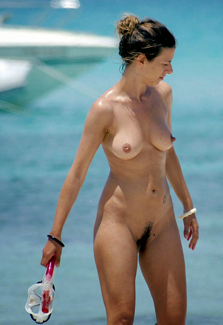 beach Pinterest hairy nude