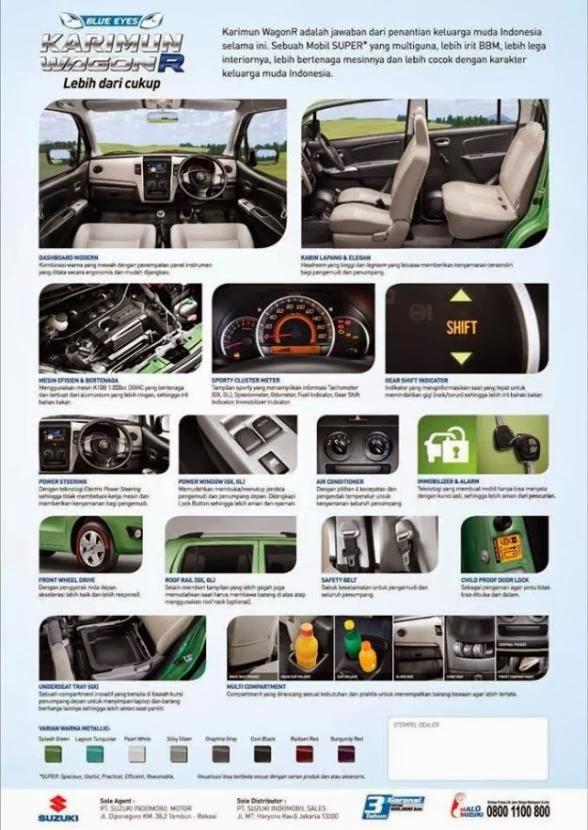 Perbedaan Tipe Suzuki Karimun Wagon R dan Harganya