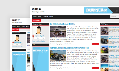 Woles v2 Blogger Template