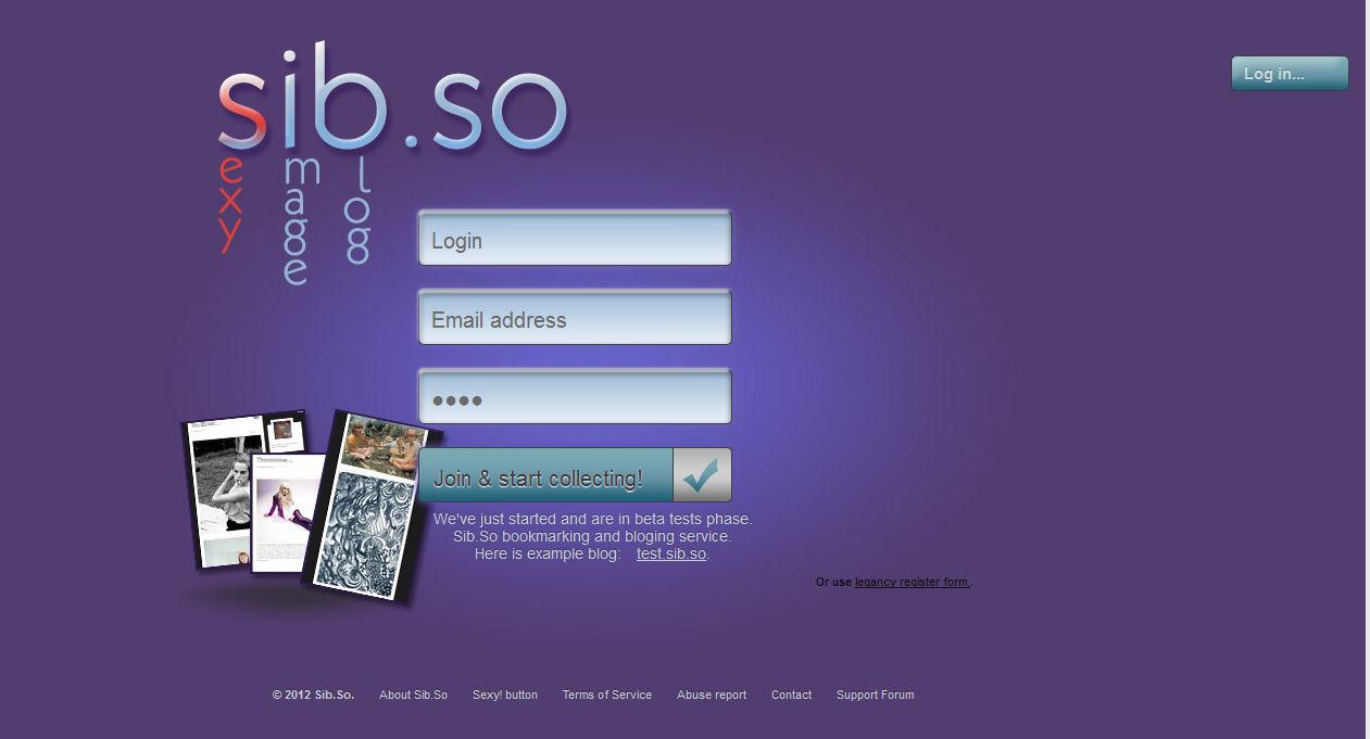 Sib.so è un foto blog per immagini sexy e/o per adulti : il servizio