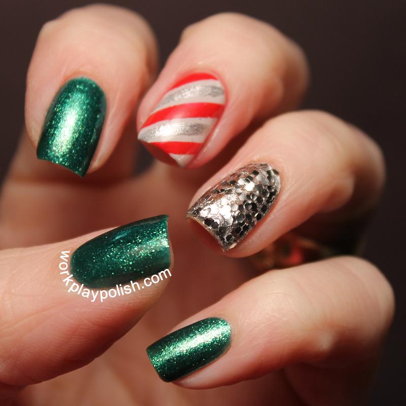 Christmas Skittles (work / play / polish)