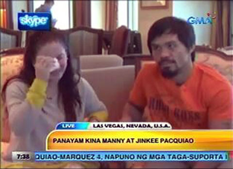 Manny Pacquiao Interview Video - One Day after the Knock Out