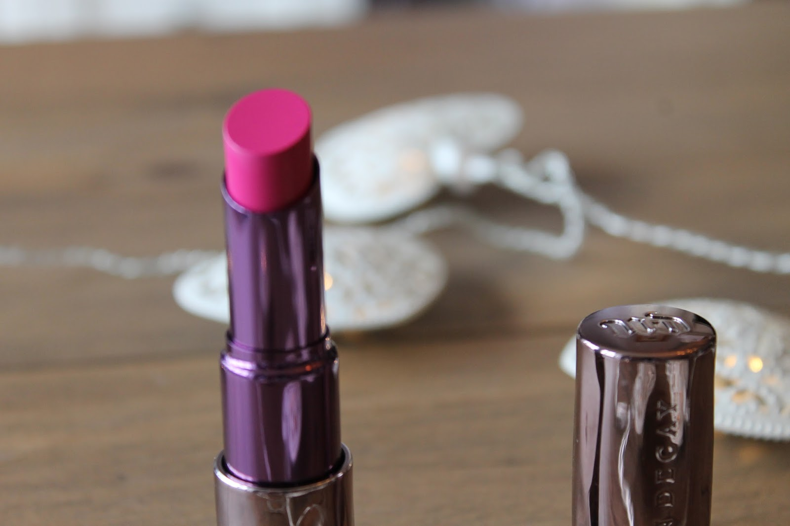 Urban decay Anarchy Lipstick blog review