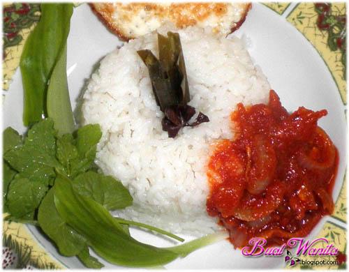 Resepi Mudah Nasi Lemak Sihat Tanpa Santan - Buat Wanita