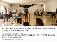 1er Certamen Foto y Vídeo Yoga y Meditación