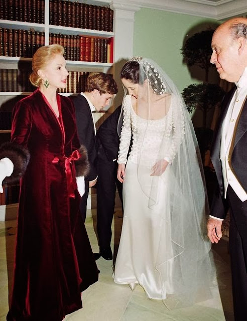 Weddings : carolina herrera & daughter patricia townandcountrymag