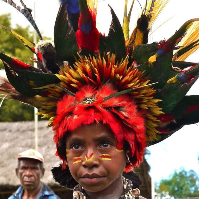 modern life of papuans