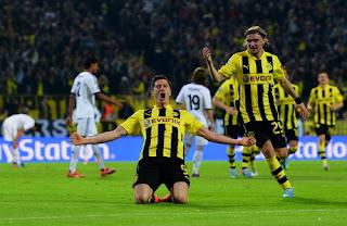 Hasil Liga Champion Borussia Dortmund vs Real Madrid