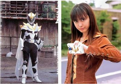 Foto Natsuki Kato, pemeran kamen rider Femme