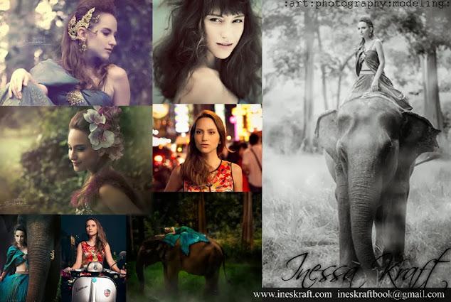 Inessa Kraft, modeling, model, acting, actress, sustainable, fitness