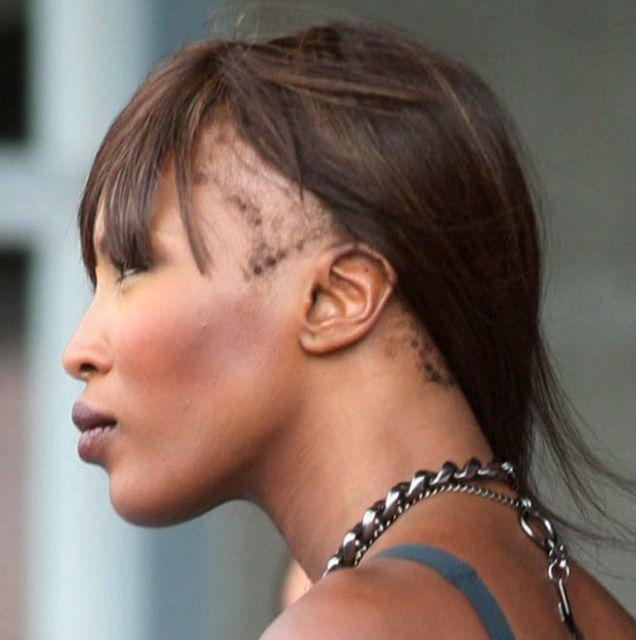 Naomi Campbell Hair