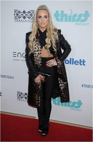 Katy Tiz Wears Isharya
