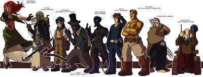 Steampunk X-Men