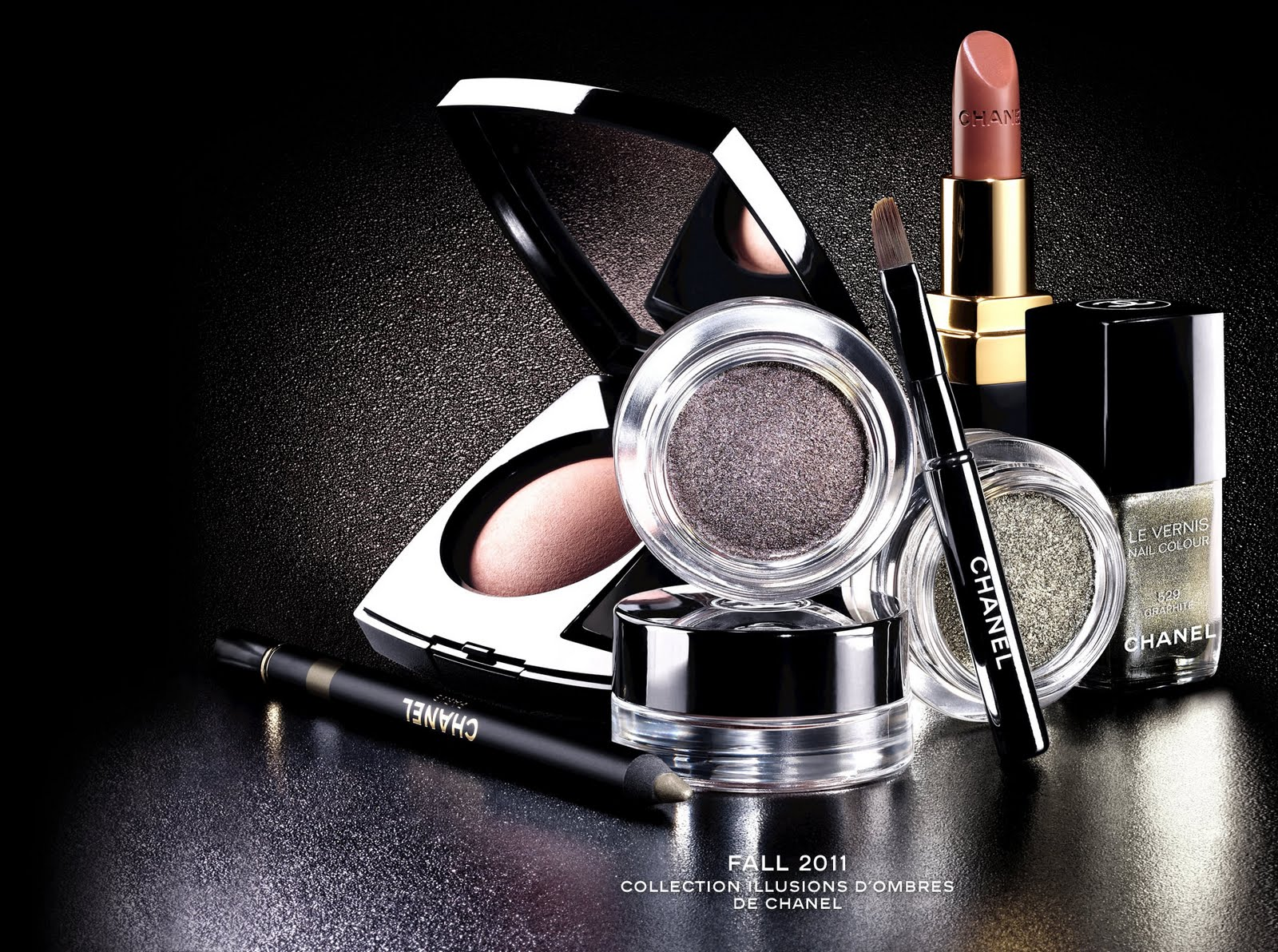 Beauty Anonymous: Chanel Fall 2011 Makeup Collection