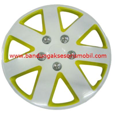 Dop Roda White+Yellow WJ-5058 (14)