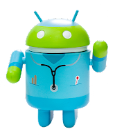 android-logo-dressed-in-doctor-with-a-stetescope