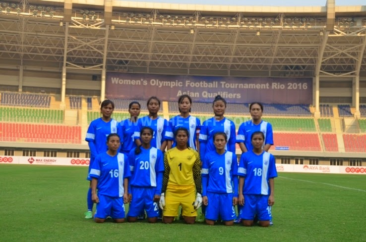 India 4-0 Sri Lanka - Women's Olympic Qualifiers Rio 2016 Round 1