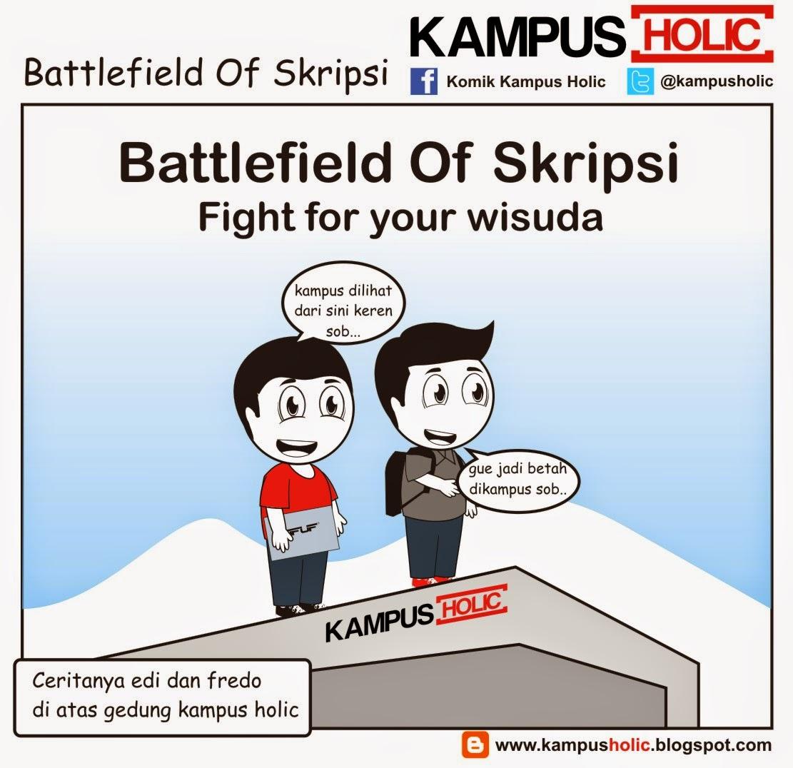#670 Battlefield Of Skripsi