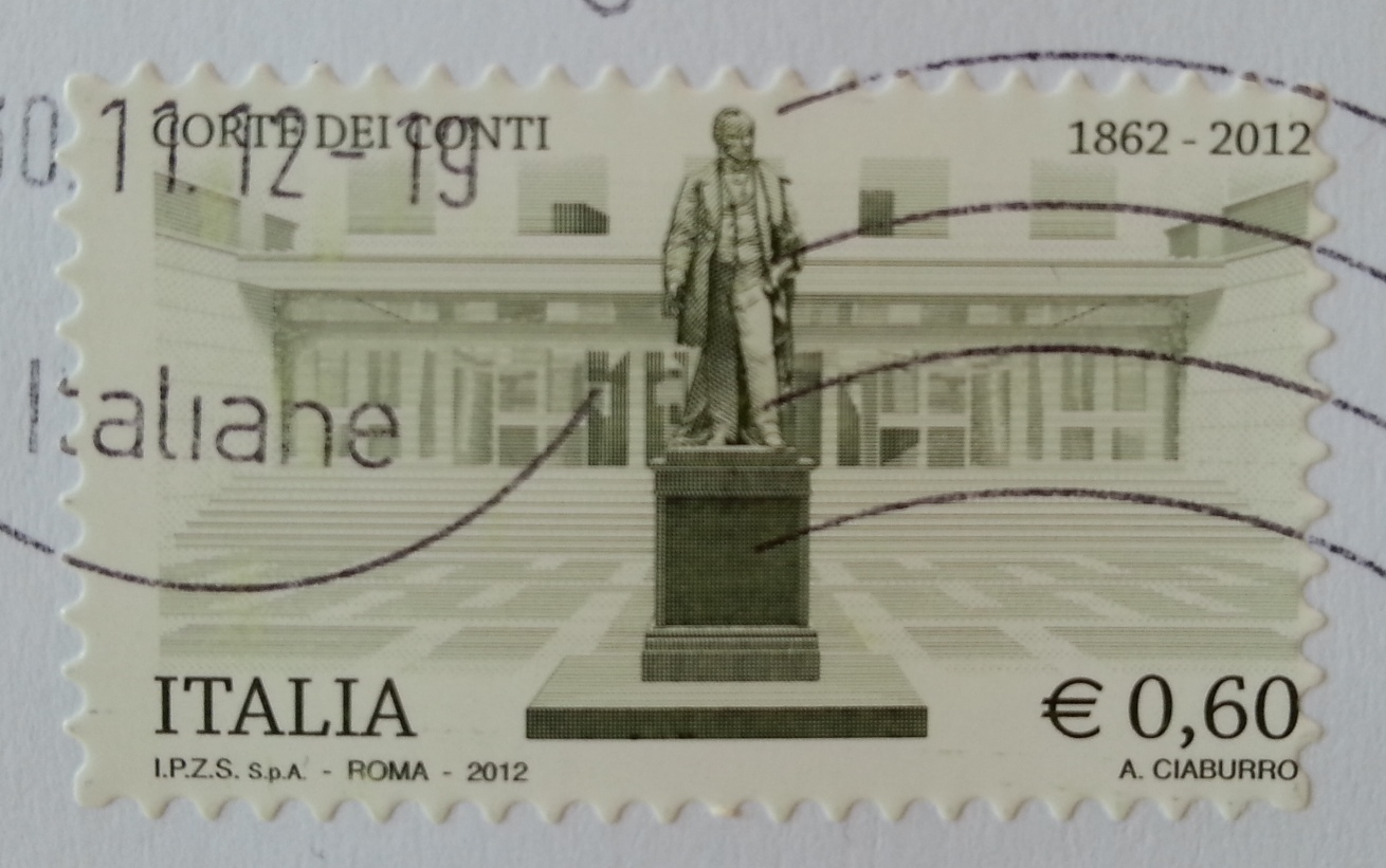 francobollo Corte dei Conti 1862 - 2012