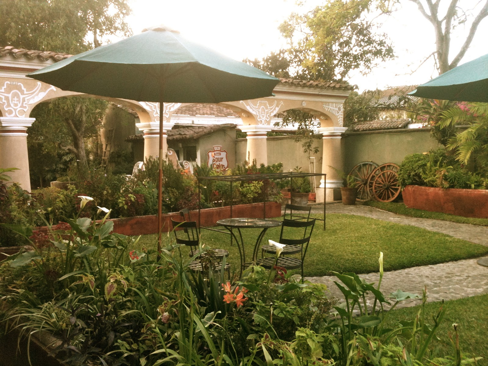 Antigua\'s Garden Restaurants are the perfect escape | spaswinefood