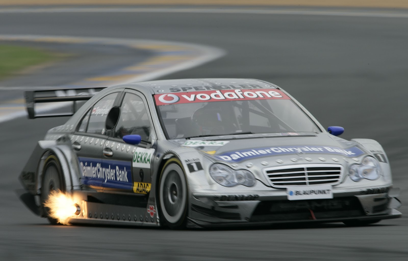 0 to 62mph official mercedes c class the history part for Mercedes benz touring car
