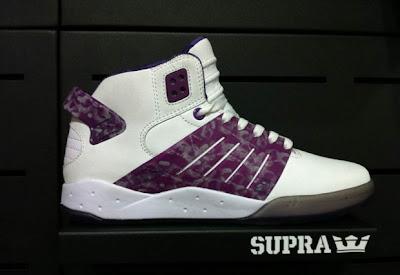 fotos de las white cup n purple stuff zapatillas diseñadas por lil wayne supra