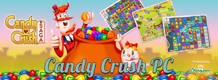Candy Crush PC = Candy Crush gratuit + Candy Crush Saga ou Candy Crush - Facebook