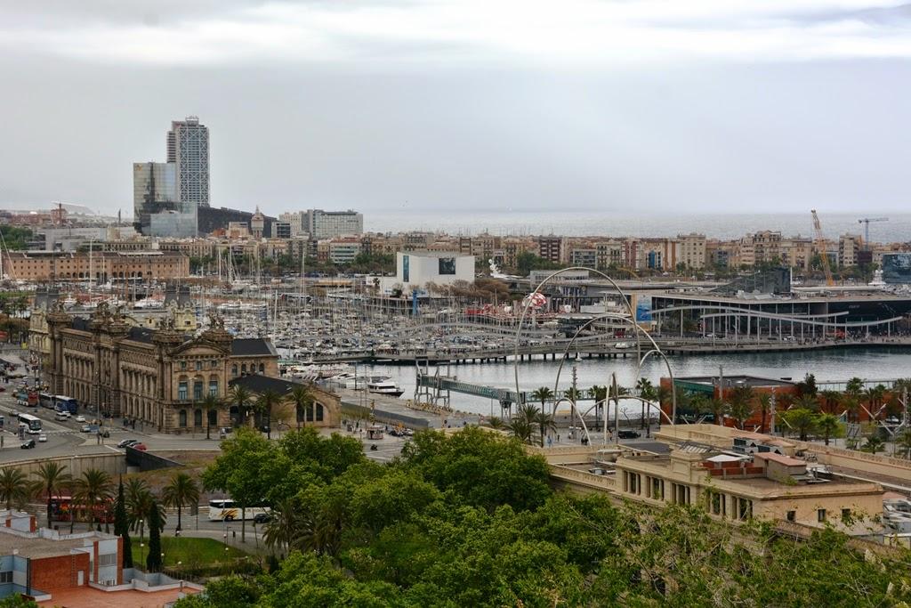 Montjuic Barcelona port