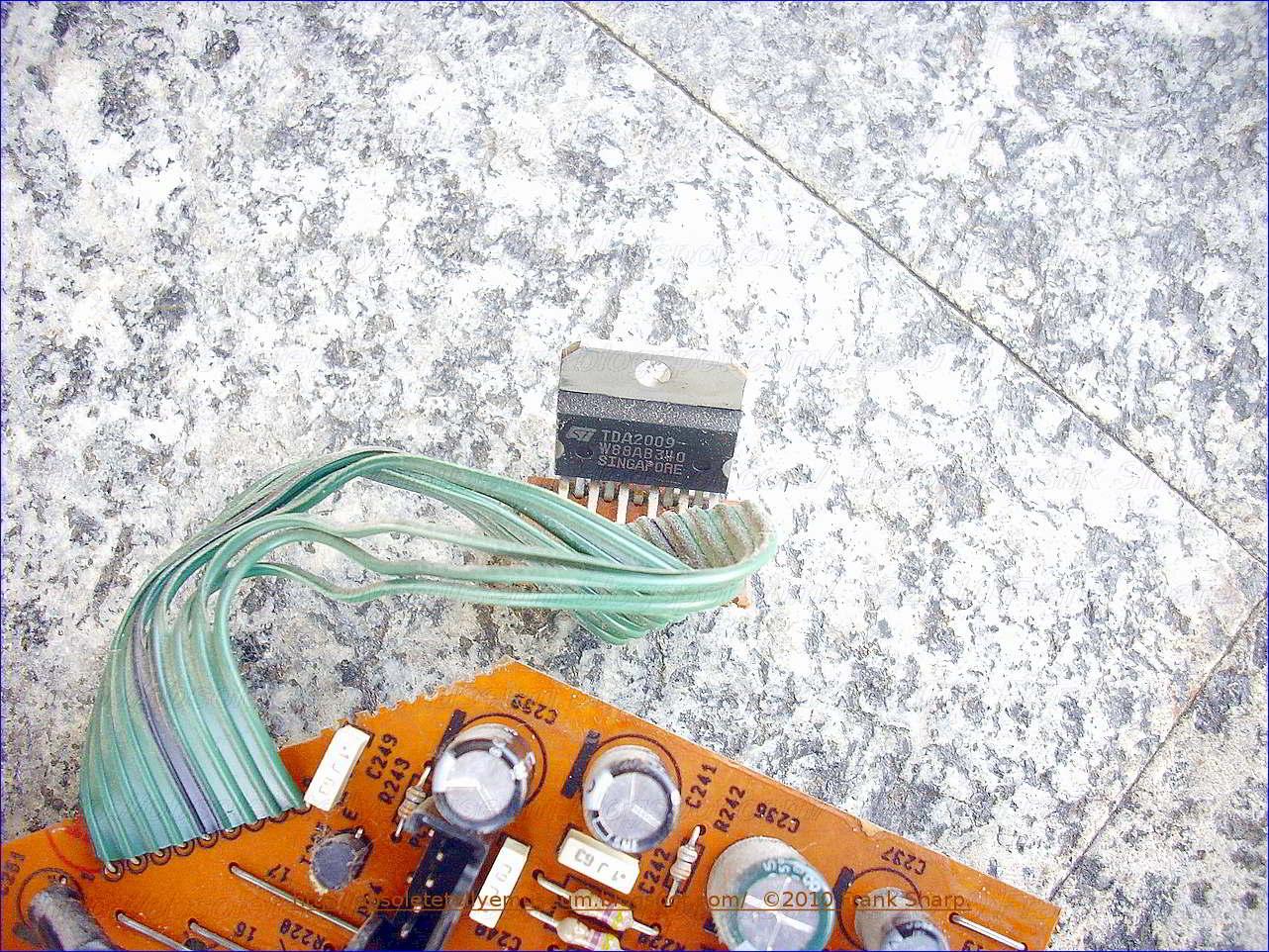TDA2009/a 10/W 10/W amplificador est/éreo 11/pin multiwatt Pack de 1