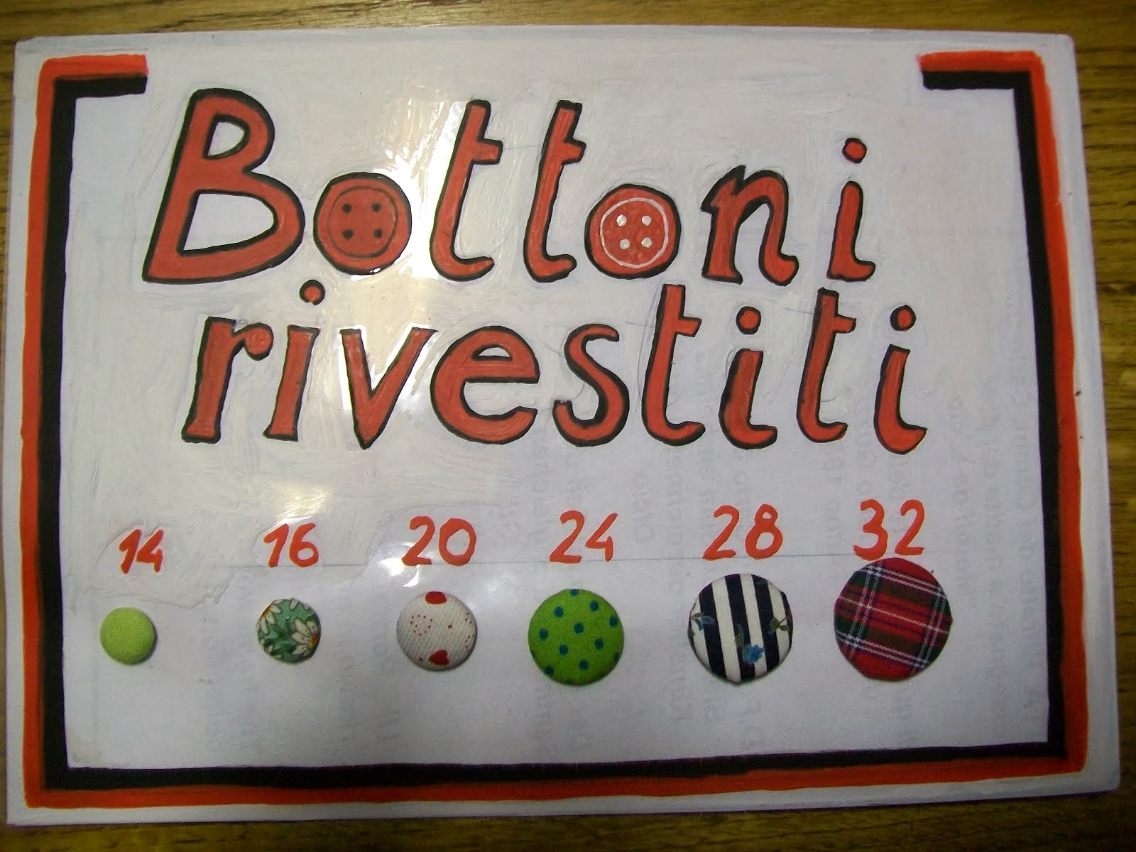 BOTTONI RIVESTITI