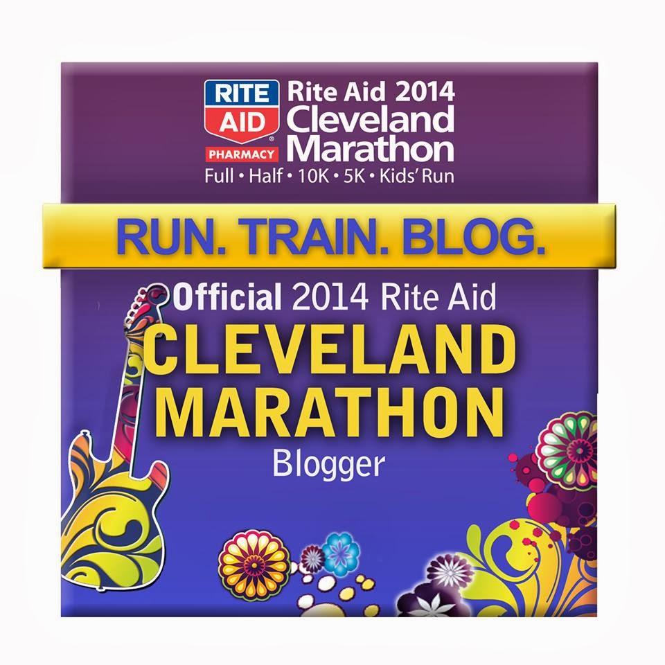Rite Aid Cleveland Marathon Official Blogger