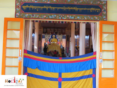 Entrance of Namgyal Monastery