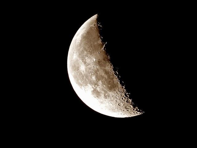 Calendario lunar Estamos en luna menguante
