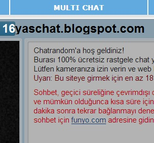 Chatrandom Multi Chat