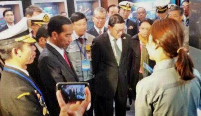 Jokowi Kagumi Kapal Buatan Korea Selatan