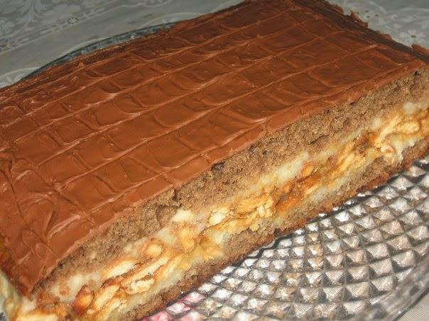 Вкусный торт рецепт с фото сникерс