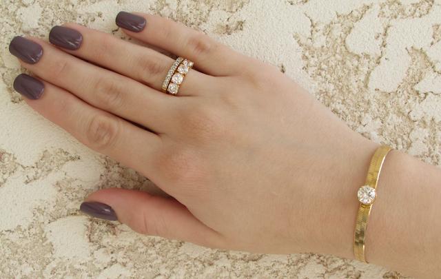 Anel, pulseira, delicada, Valentina Volpe, Acessórios