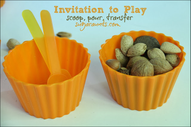 Invitation to Scoop, Pour, Transfer