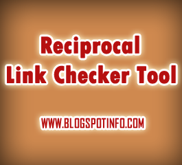 Reciprocal Link url exchange checker script tool