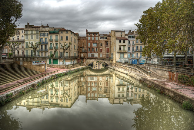 photo hdr canal robine, photo hdr narbonne, narbonne tourisme, narbonne les barques, photo hdr fabien monteil