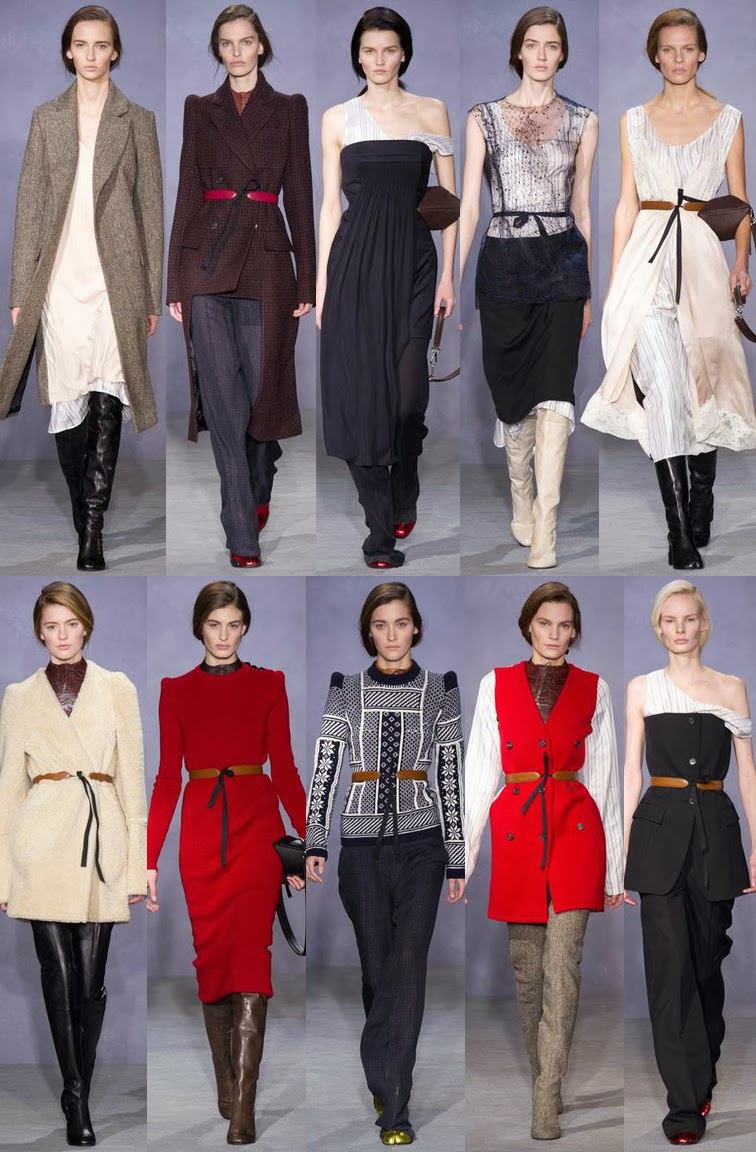 Maison Martin Mergiela fall winter 2014 runway collection, PFW, Paris fashion week, FW14, AW14