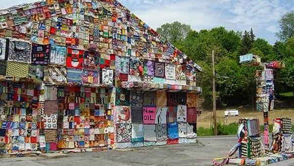 Karya Seni Paling Menakjubkan Yang Dibuat Dari Sampah