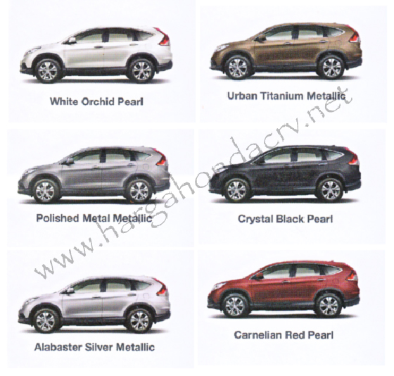 Warna All-New Honda CRV Images