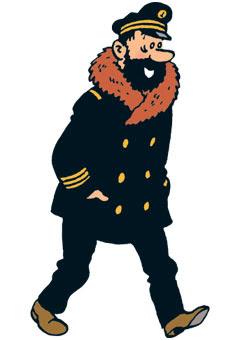 Bashi-bazouk, Captain Haddock, Tintin