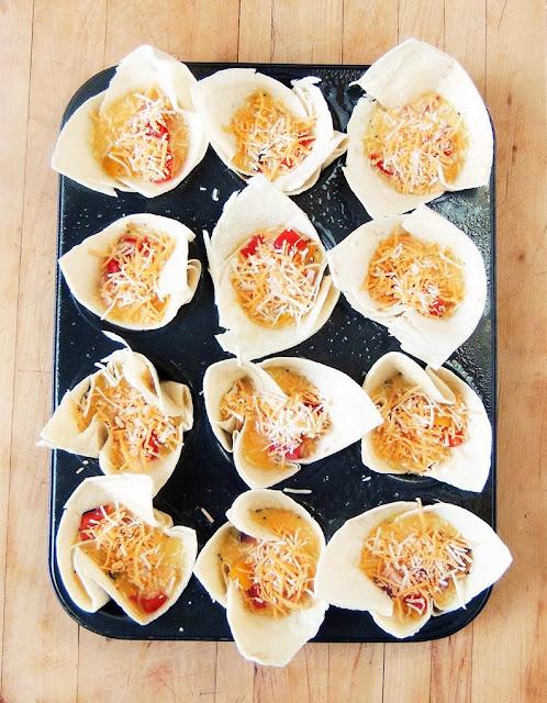 Ham and Cheese Breakfast Burrito Bites from www.bobbiskozykitchen.com