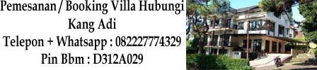 Villa Istana Bunga Sewa Villa Murah Di Lembang Bandung