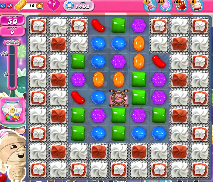 Candy Crush Saga 1402